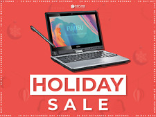 Fujitsu Convertible Laptop Tablet Touchscreen 12.5
