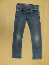 Quiksilver 205617 Size 24 Slim Straight Fit Boys Blue Jeans ~