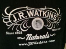 T-SHIRT  S 100% Cotton BLACK - J.R. WATKINS -APOTHECARY SINCE 1868