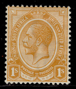 SOUTH AFRICA GV SG12a, 1s orange-yellow, NH MINT. Cat £15.