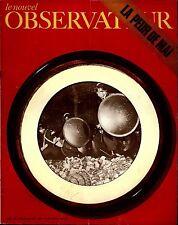 """Le Nouvel Observateur. N°285. Avril-mai 1970 """"La peur de Mai"""""""