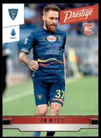 2019-20 Chronicles Soccer Prestige Base #255 Zan Majer - US Lecce
