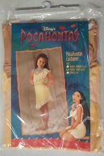 Disney's Pocahontas Costume Girls Size Toddler Large 4-6 New In Original Packag