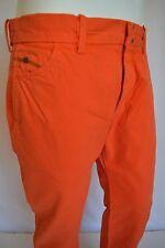 DIESEL Chi Regs SLIM FIT Trousers CHINO Pants Men's SZ 31 IN BURN ORANGE RED