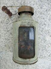 Lampe Laterne Kerzen-Laterne Bunkerlambe Handlaterne Grabenlampe D.R.G.M.