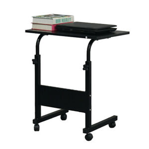 Flexible Removable Side Table PC Desk Baffle-Black For HomeOffice Small Size US