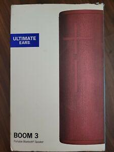 Ultimate Ears Boom 3 Wireless Speaker - Sunset Red Portable Speaker