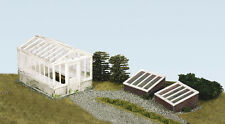 WILLS 00 Scale Building/Layout Plastic kit No:SS20 Greenhouse and Cold Frames.