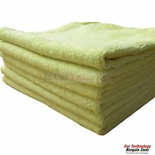 "10 Large 16""x16"" Kirkland Signature Microfiber Ultra Soft Cleaning Towels Cloths"