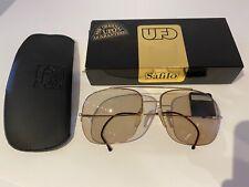Nos Vintage 1990s Safilo Ufo 3101 sunglasses made in Italy with original case