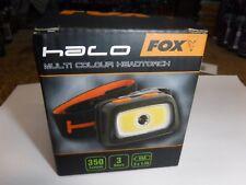 Fox Halo Multi Colour Headtorch / Carp Fishing cei169