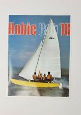 Vintage 1971 Hobie Cat 16 Sailboat Brochure - 1st Year Production!