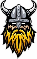 Viking Warrior Bumper Sticker Vinyl Decal