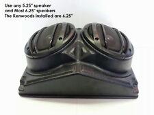 "Universal UNI 6.5"" Overhead Speaker Pod Enclosure For Polaris RZR/ATV/UTV/Cart"