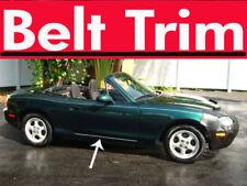 Mazda MX-5 MX5 Miata CHROME SIDE BELT TRIM DOOR MOLDING 99-05/06 07 08 09 10-15