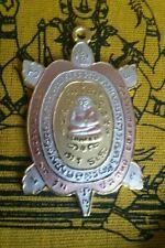 LP Liew Buddha Amulet Necklace Hindu Meditation Yoga Pendant Totem Coin Gift Set
