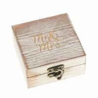 Wood Ring Bearer Box, Wedding, Engagement Ring Holder Box