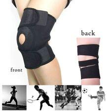 Knee Brace Open Patella Support Adjustable Elastic Sports Knee Cap Protector