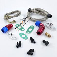 For Toyota Single Turbo Oil Feed Line Kit Flange Kit 1JZGTE 2JZGTE 1JZ Repair