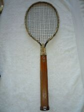 antique Steel tennis racket