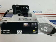 Sony Cyber-shot DSC-H70 16.1MP 10X Zoom, Very Good Condition, FullyTested, Black