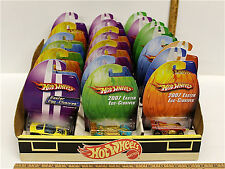 24 Hot Wheels Easter Egg-Clusives Diecast Car w/Factory Display Case Mattel NOC