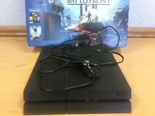 PS4 Star Wars Battlefront Console 500 GB Adult Owned Rarely Used