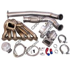 Turbo Manifold Downpipe Oil Line Kit For 86-92 Supra MK3 2JZ-GTE 2JZGTE