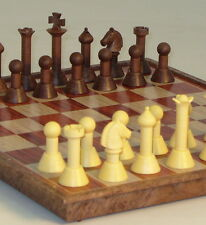 "MAGNETIC TRAVEL CHESS SET - MODERN STYLE - 11 INCH BOARD - K=3"" (ww 68030)"