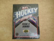 1990-91 Upper Deck Hockey High # Series Complete Set