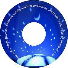 Gentle Baby & Children's Sleep Aid Lullaby Nursery Rhymes CD & Heartbeat Sounds