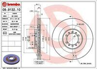 Disc Brake Rotor-Premium UV Coated OE Equivalent Rotor Front fits Montero Sport