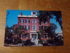 Vintage Postcard The Jared Coffin House, Nantucket, Massachusetts