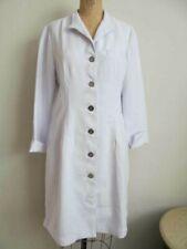 Clinique Lab Coat Jacket Cosmetics Consultant Button up Size 10