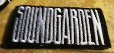 SOUNDGARDEN COLLECTIBLE RARE VINTAGE PATCH EMBROIDED 90'S METAL LIVE AUDIOSLAVE