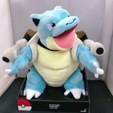 """Pokemon Center Pocket Monster Mega Blastoise Plush Stuffed Animal Doll Toy 12"""""""
