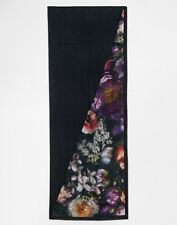 NEW!!TED BAKER Shadow Floral Print Split Long Scarf - PRETTY !! Perfect!