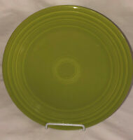 "Vintage FIESTA CHARTREUSE 9 1/2"" LUNCHEON PLATE #1"