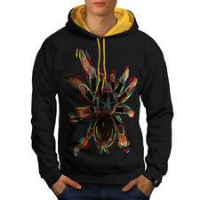 Rainbow Tarantula Men Contrast Hoodie S-2XL NEW | Wellcoda