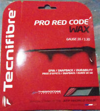 """NEW Tecnifibre Pro Red Code """"WAX"""" String 
