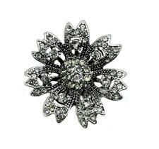 3D Crystal Eye Chunk Charm Snap Button Fit For Noosa Necklace/Bracelet  NSKZ70