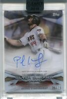2018 Topps Clearly Authentic MLB Awards Autographs Paul Goldschmidt Auto 38/75