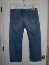 "DIESEL Jeans ""LEVAN"" Art 86N Straight Leg Stretch Button Fly Mens 36 x 28 @READ@"