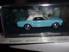 1/43 FORD MUSTANG CONVERTIBLE-THUNDERBALL - JAMES BOND 007 -IXO ALTAYA
