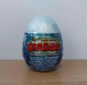 How to Train Your Dragon Hidden World Egg Lightfury Soft Plush Toy - NEW