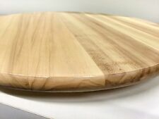 6 x SIMPLY BIRCH 39CM QUALITY TIMBER WOODEN LAZY SUSAN SUE RRP$79EA Sauce Cheese