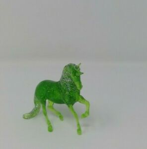 Breyer 6048 Stablemates Unicorn Gift Collection Mystic Green
