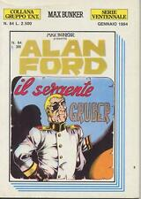 Alan Ford Gruppo T.N.T n° 84  Serie Ventennale Ed M.B.P