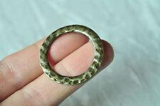 10pcs Antique Bronze Round Ring Circle Charm 32mm Necklace Handmade Craft Punk