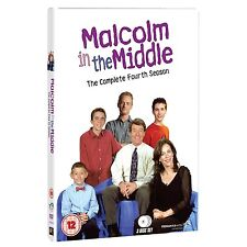 Malcolm In The Middle: The Complete Series 4 - DVD NEW & SEALED (3 Disks)